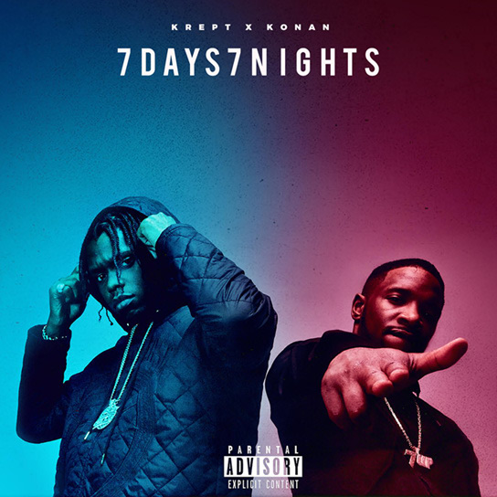 Listen to Krept & Konan's <i>7 Days</i> and<i> 7 Nights</i> projects