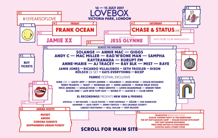 Solange, Sampha, And Kaytranada Join London's Lovebox Line-Up