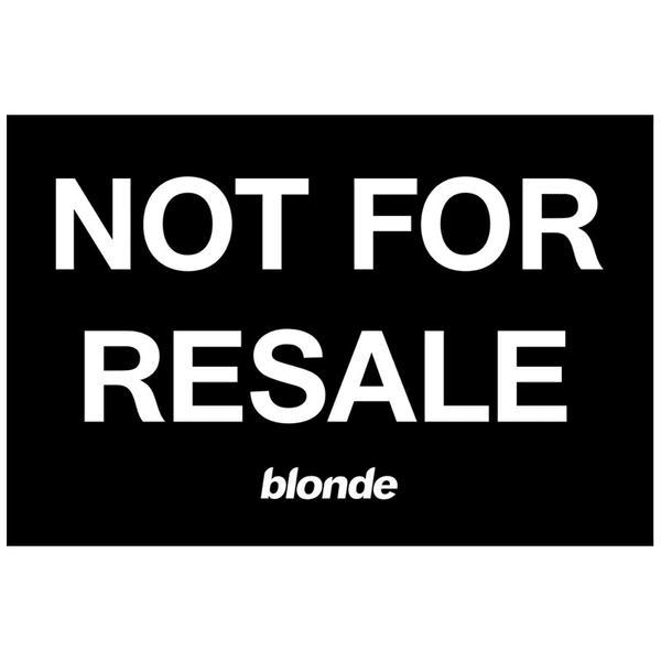 Frank Ocean Is Selling <i>Blond</i> On Vinyl For Black Friday