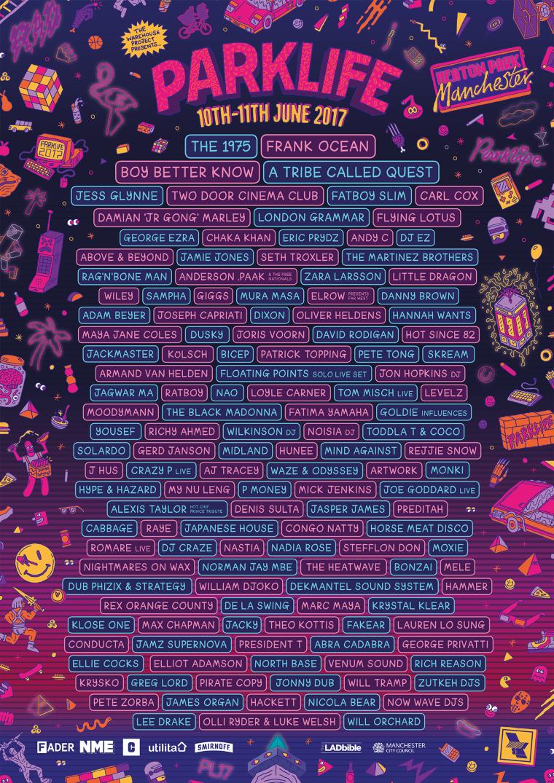 Frank Ocean Will Headline The 2017 Parklife Festival