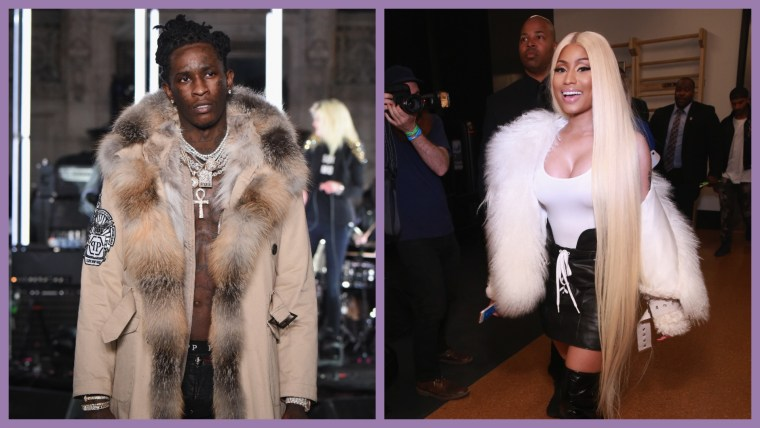 Nicki Minaj Joins Young Thug On New Song