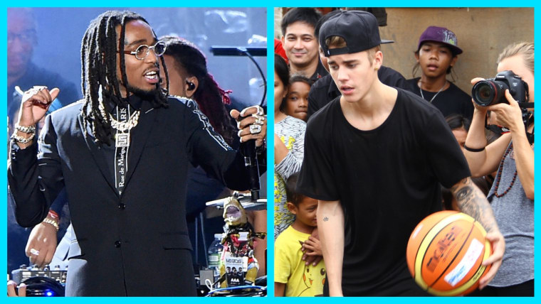 Quavo and Justin Bieber will play in NBA All-Star Celebrity Game