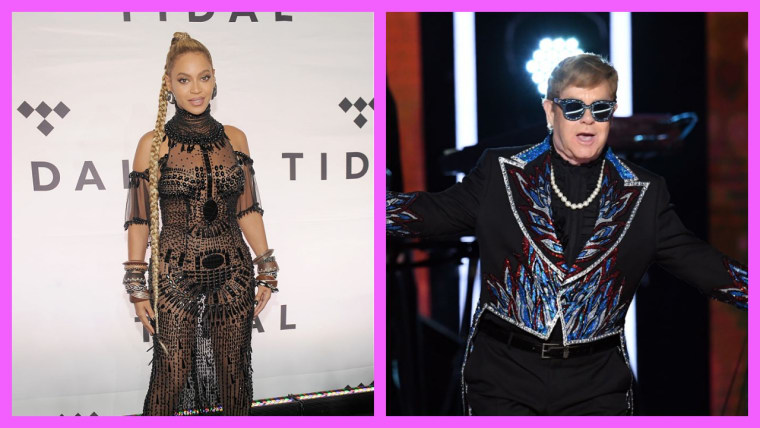 'The Lion King': Elton John & Beyonce Possibly Teaming Up For New Song