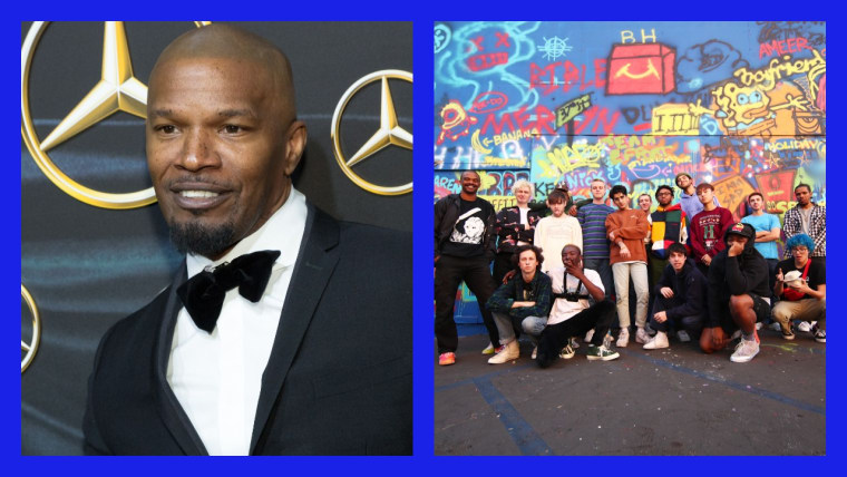 "Jamie Foxx had dinner with Brockhampton and watched their video for ""Star"""