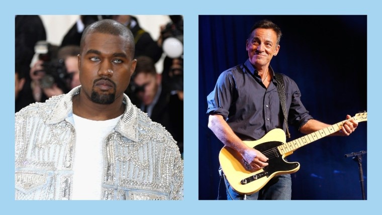 "Bruce Springsteen calls Kanye West's <i>The Life Of Pablo</i> ""an amazing creation"""