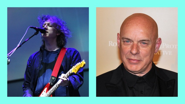 Brian Eno and My Bloody Valentine's Kevin Shields shared a legendary collaboration
