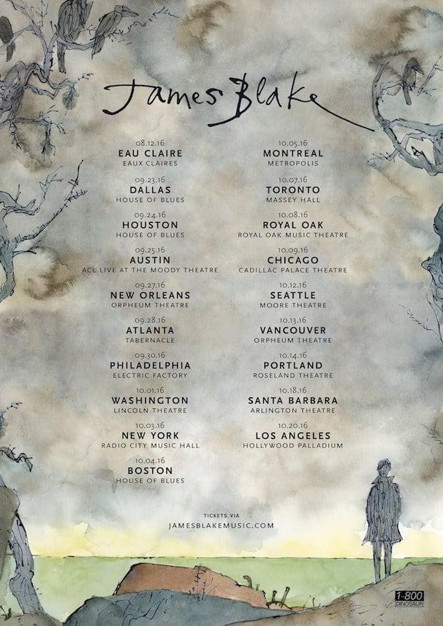 James Blake Announces North American Tour Dates
