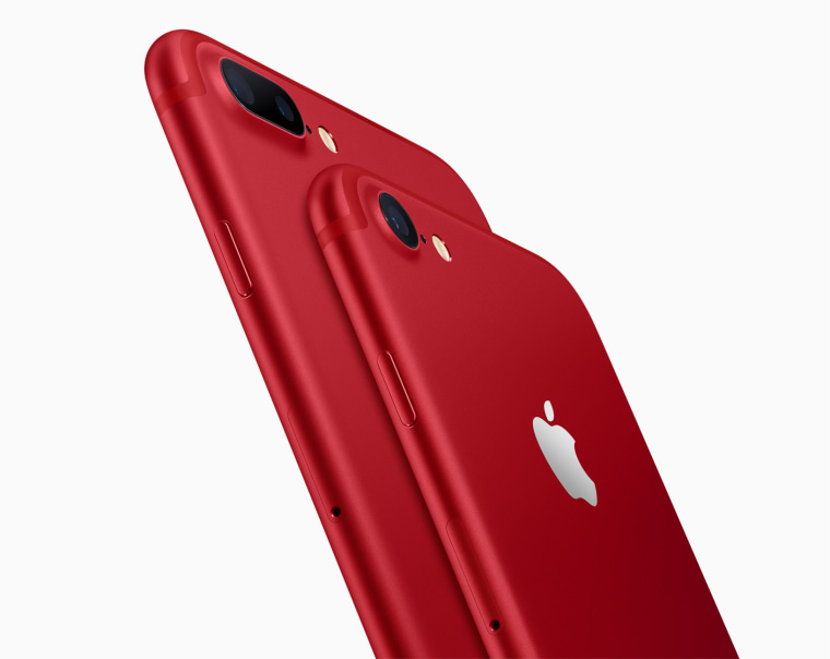 Apple Introduced A Special-Edition Red iPhone 7