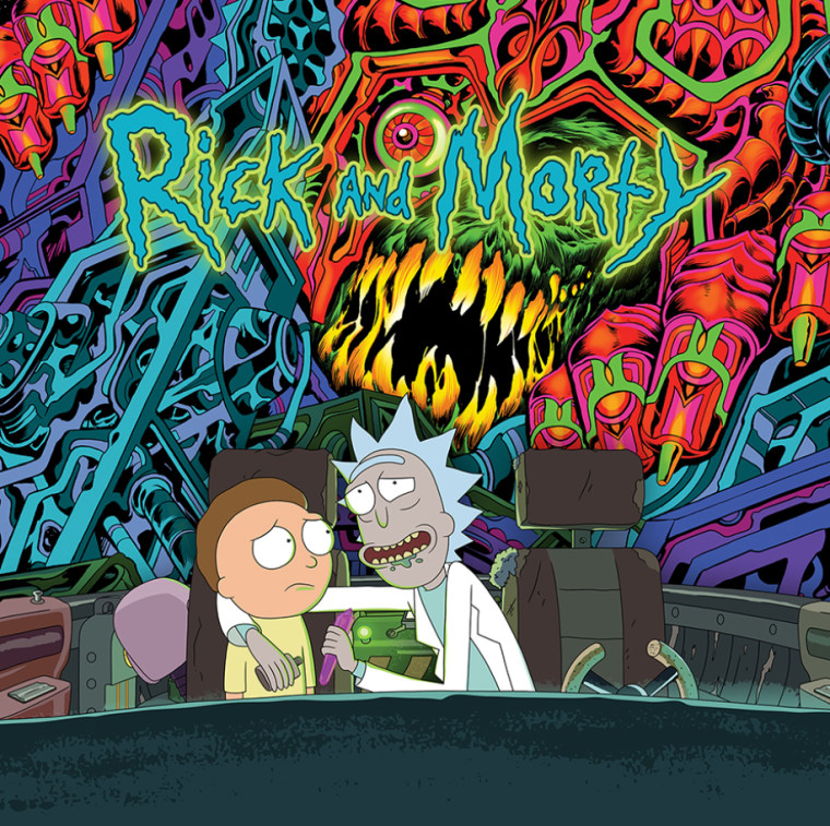 <i>Rick and Morty</i> are releasing an album