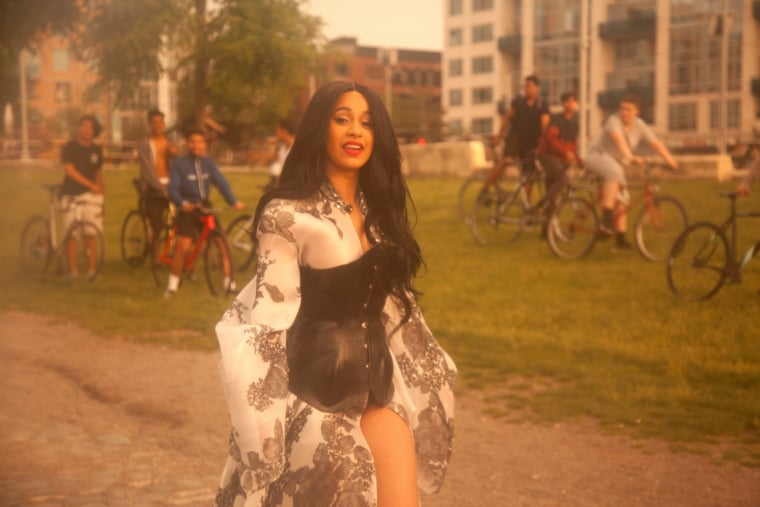 """Cardi B's """"Bodak Yellow"""" is now the longest running No. 1 by a solo woman rapper of all time"""