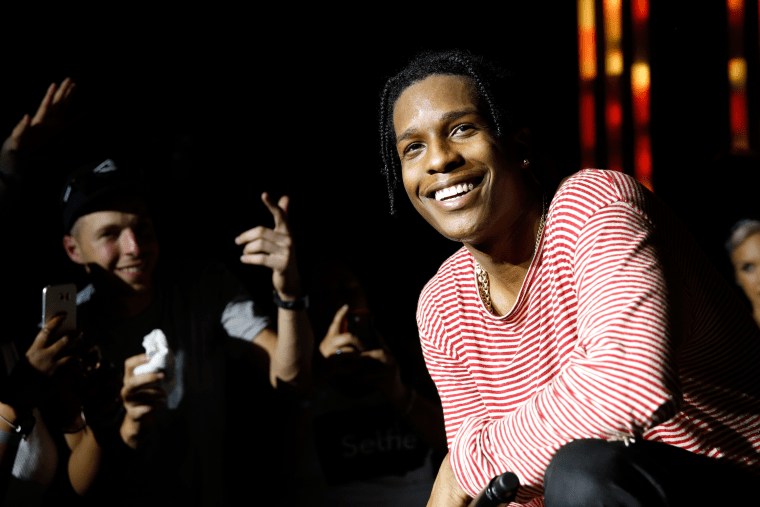 A$AP Rocky Shot A Video With Skepta and Danger Mouse