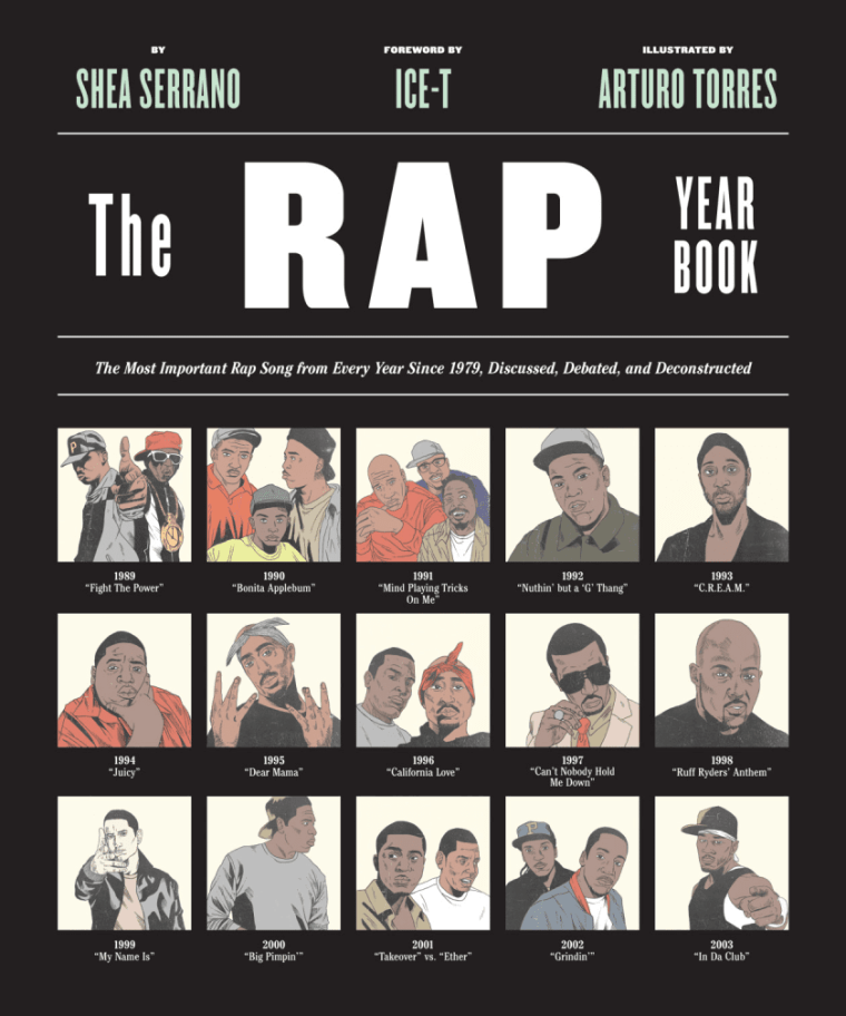 Shea Serrano's <I>The Rap Yearbook</i> To Be Made Into An AMC Documentary Series