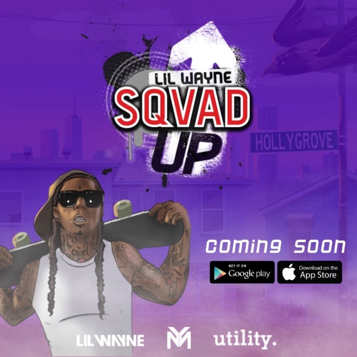 Lil Wayne Releasing Mobile Skateboard App <i>Sqvad Up</i>