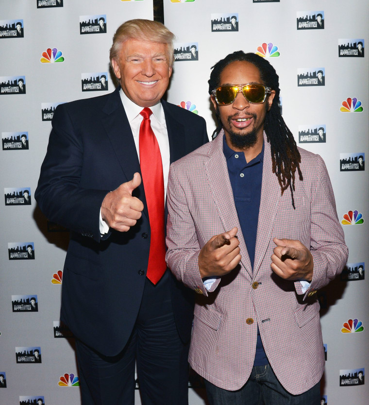 Report: Donald Trump Called Lil Jon An 'Uncle Tom' During <i>Apprentice</i> Filming