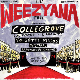 Lil Wayne Adds Mystikal, Yo Gotti, And More To Lil Weezyana Festival