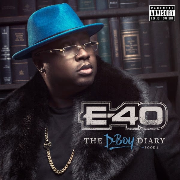 E-40 Announces New Double Album <i>The D-Boy Diary Books 1 & 2</i>