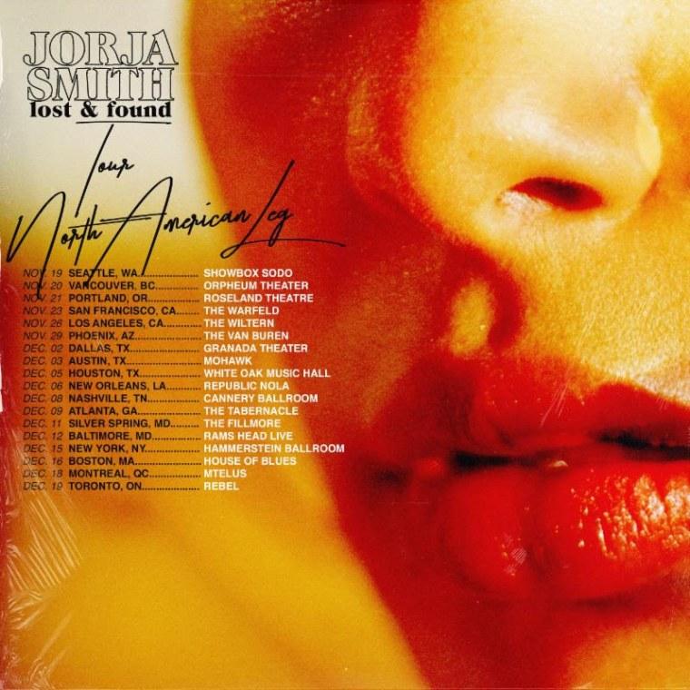 Jorja Smith announces Lost & Found tour