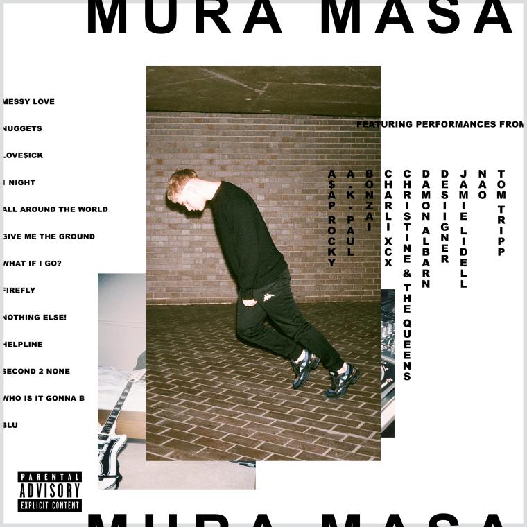 Mura Masa's Debut Album Will Feature A$AP Rocky, Damon Albarn, And More