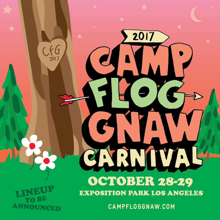 Tyler, The Creator Announces 2017 Annual Camp Flog Gnaw Carnival