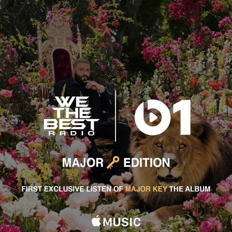 Stream DJ Khaled's <i>Major Key</i> Listening Party On Beats 1 Radio