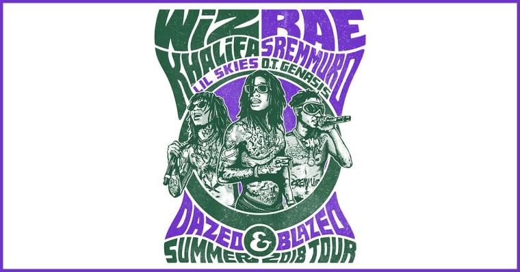 Wiz Khalifa and Rae Sremmurd announce summer tour
