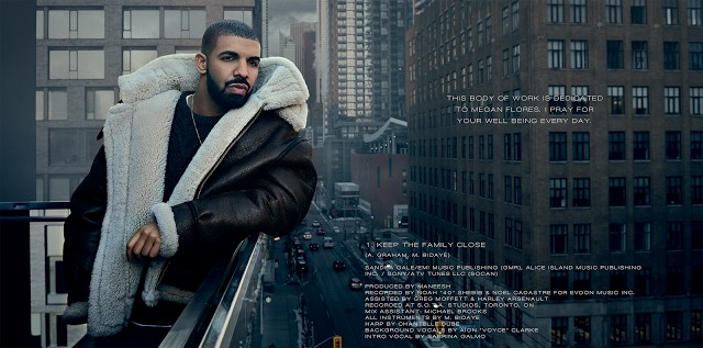 View The Full Album Credits For Drake's <i>VIEWS</i>