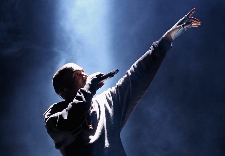 """Kanye Made An Hour-Long Version Of """"Father Stretch My Hands"""""""