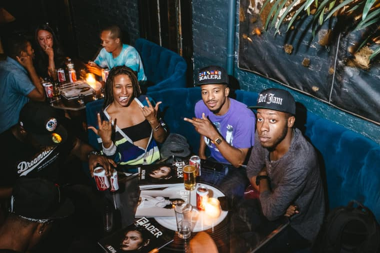 Empress Of And Austin Millz Lit Up Our 99th Issue Release Party