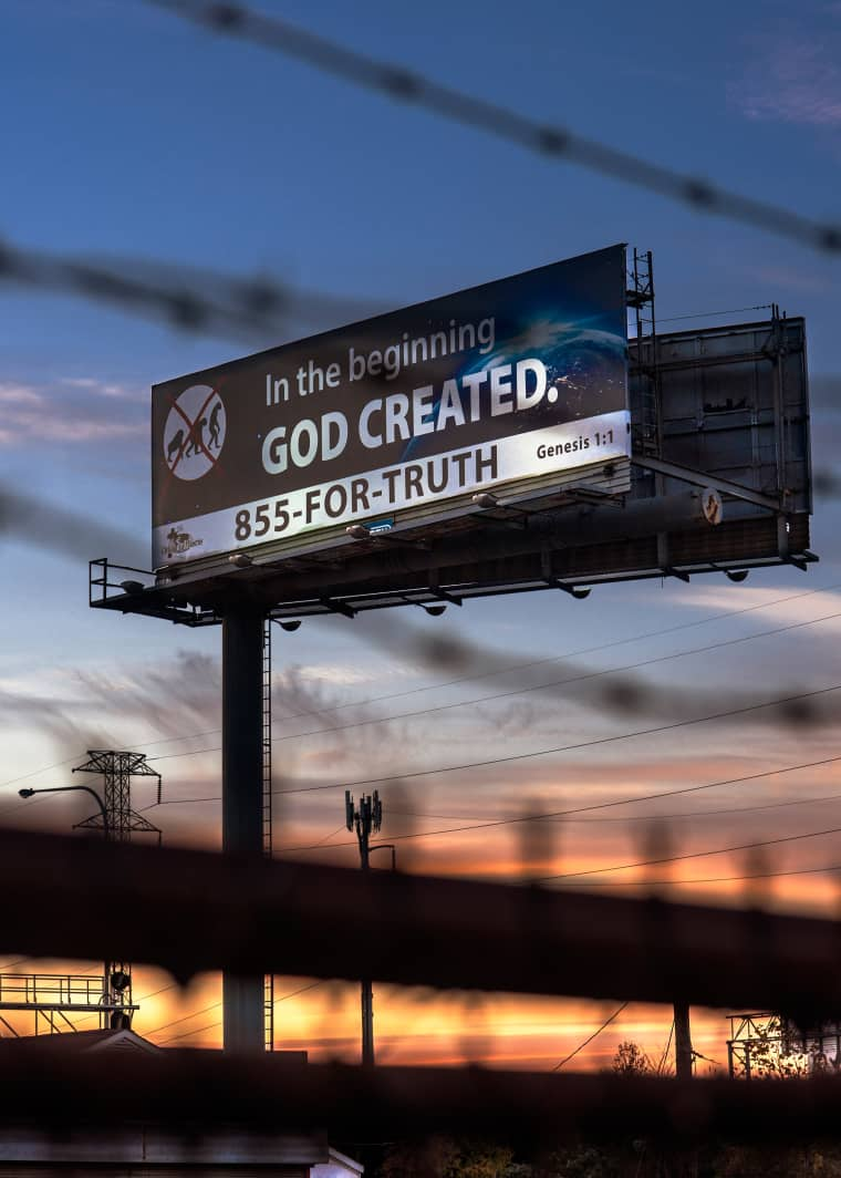 In 2016, Religious Organizations Spent More Money On Billboards Than Ever. That's Not A Good Sign.