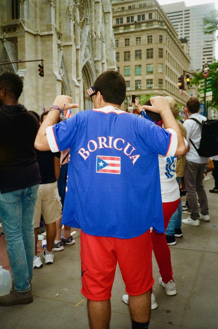 Every outfit at the Puerto Rican Day Parade was a love letter to the island