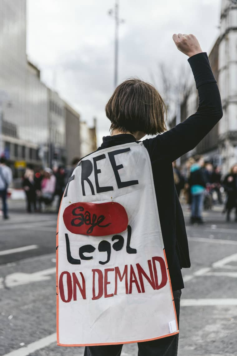 Why These Women Came Out To Protest Ireland's Abortion Law On International Women's Day