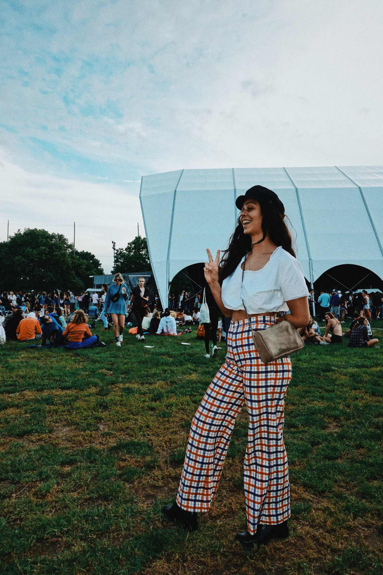 This year's Governors Ball style was low-key as can be
