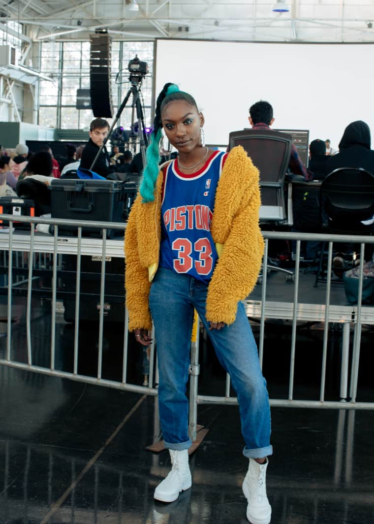People from Oakland know how to get a multi-layered fit off
