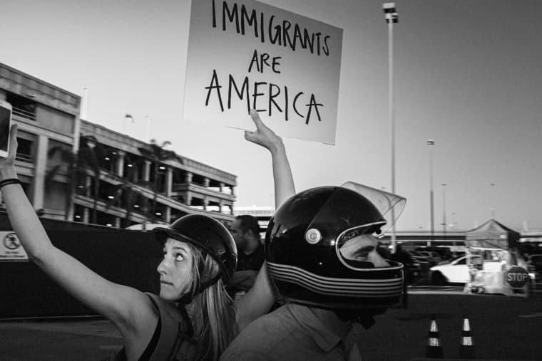 At LAX, The Protest Against Trump's Muslim Ban Was A Lesson In Solidarity