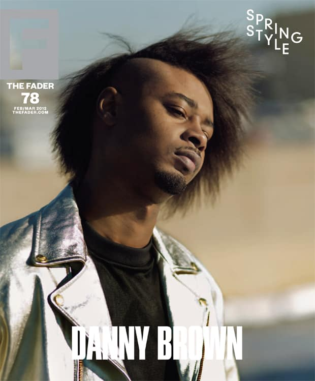 danny brown fader cover