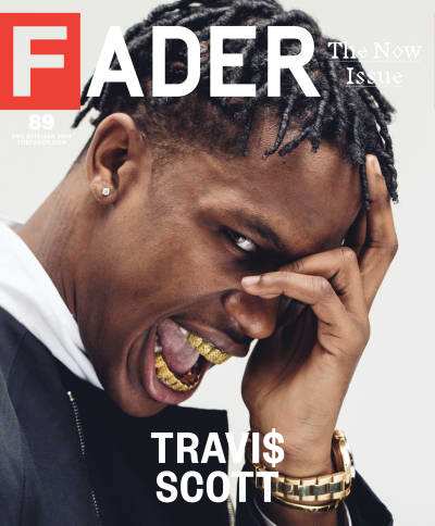 Travi$ Scott FADER