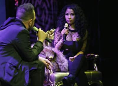 Nicki Minaj Crwn