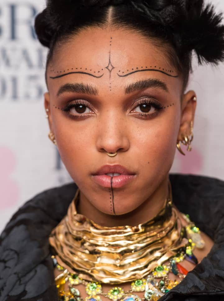 Fka Twigs Got Temporary Face Tattoos The Fader