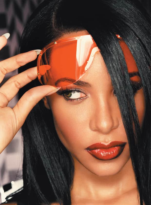 aaliyah serious manner the fader
