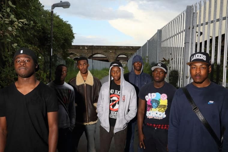 Novelist's south London grime crew The Square