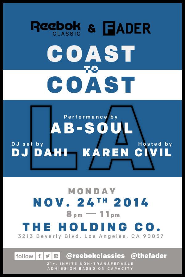 reebook coast to coast kiesza ab-soul