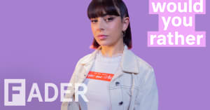 Charli XCX debates Titanic, Britney Spears, and more '90s favorites in Would You Rather