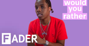 Roy Woods talks about camping with Drake and 40 and more in Would You Rather video