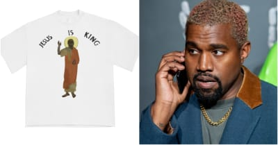Kanye West's Jesus Is King merch is here, at least
