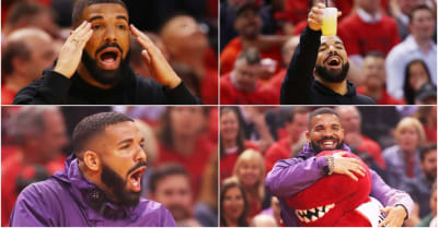 Ranking Drake's 5 best moments from the past week of Raptors games