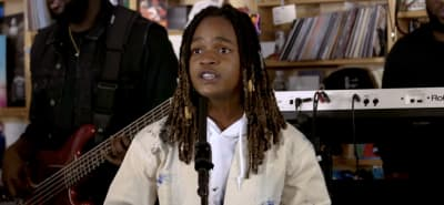 Watch Koffee's NPR Tiny Desk Concert