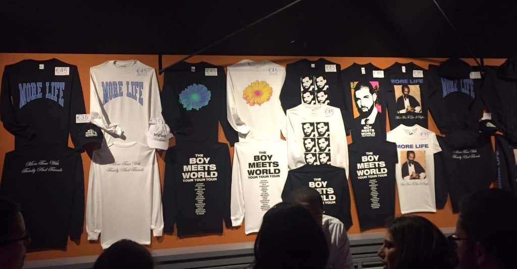 Drake Official Tour Merch