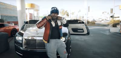 "Drakeo The Ruler is gassed up in the ""Too Icey"" video"