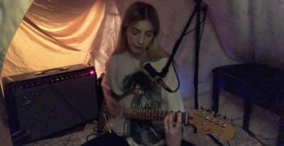 Digital FORT: Ellis plays three songs from her blanket fort