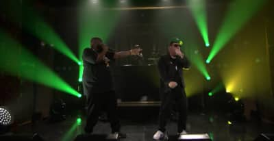 "Watch Run The Jewels Bring ""Legend Has It"" To The Tonight Show"